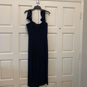 Eliza J navy blue jumpsuit
